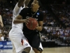 Andre Roberson looks to shoot the ball around two Illinoise defenders. (Amy Leder/CU Independent)