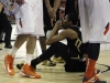 Sophomore Spencer Dinwiddie takes a moment after a foul is called against him. (Amy Leder/CU Independent)