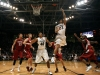 Sabatino Chen (23) attempts a lay-up as Josh Scott (40) waits for the rebound. (Amy Leder/CU Independent)