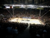 The sold out crowd during the black-out game against Arizona at the Coors Events Center. (James Bradbury/CU Independent)