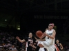 Sophomore forward Jen Reese goes up for a layup in the women's game agianst Oregon State. (Kai Casey/ CU Independent)