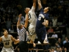 Junior forward Andre Roberson tips off againts California Sunday Jan. 27, 2013.  (Nate Bruzdzinski/CU Independent)