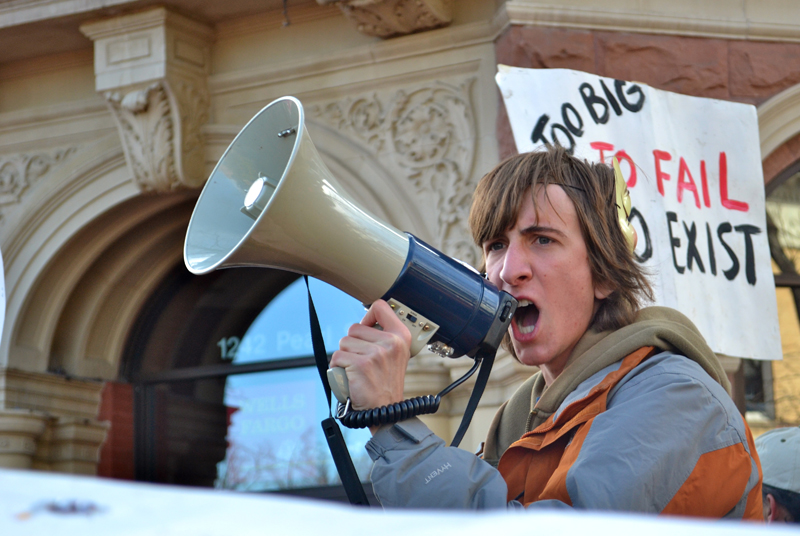 Occupy Boulder moves to Pearl Street