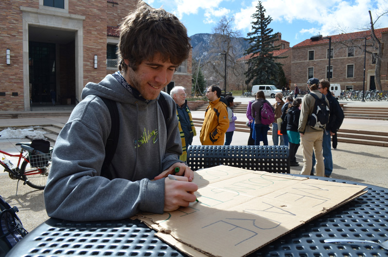 Occupy CU protests tuition increase