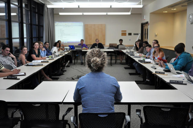 First CUSG debate covers key viewpoints on spending, lobbying, 4/20