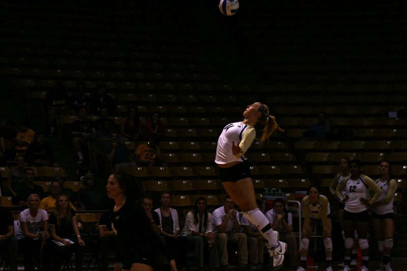 CU volleyball falls to Washington State