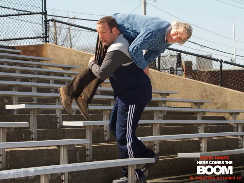 Kevin James in 'Here Comes the Boom. (Courtesy Sony Pictures Digital Inc.)