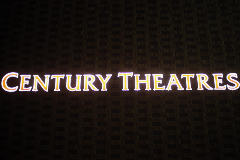 The Century Theaters on 30th Street. (Robert R. Denton/CU Independent)