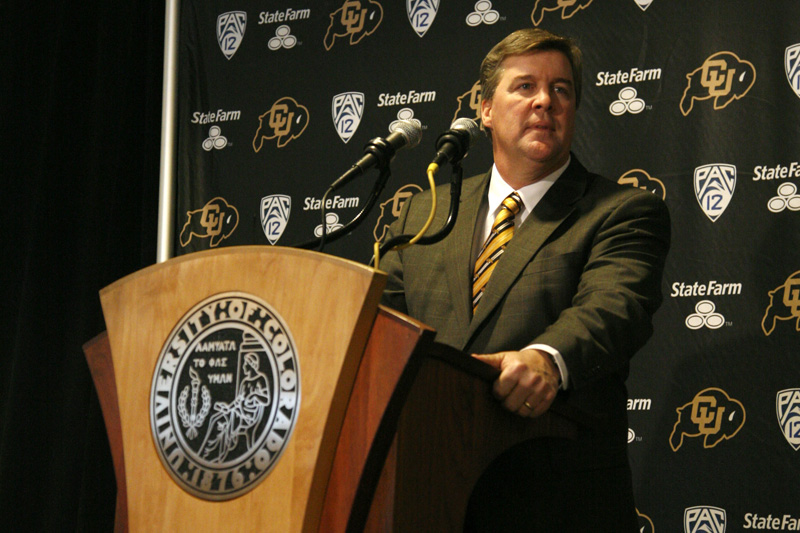 CU hires San Jose State's Mike MacIntyre as new head football coach