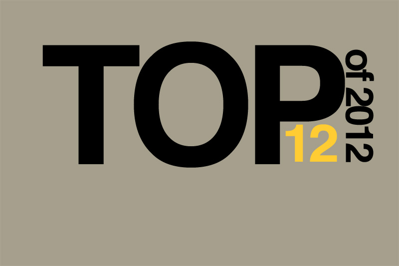 Top 12 of 2012: TV shows