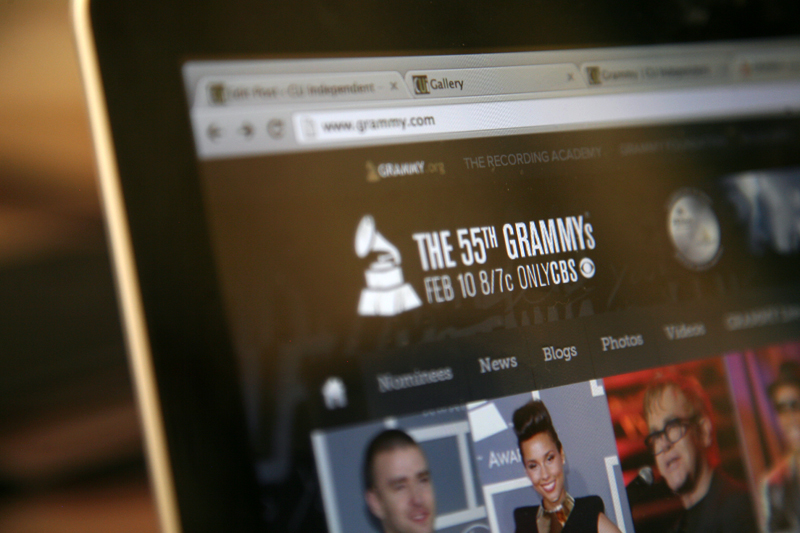 The 55th Grammy Awards is happening Sunday. (Kai Casey/CU Independent)