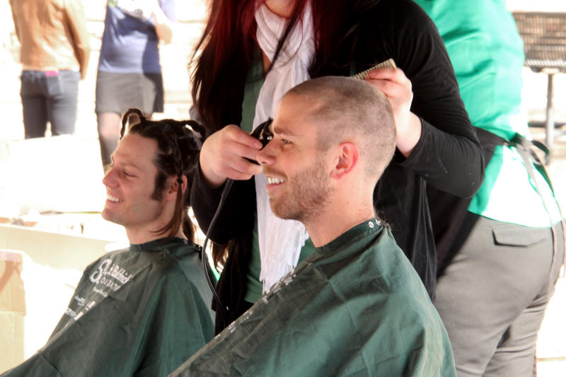 St. Baldrick's shaves the day for children