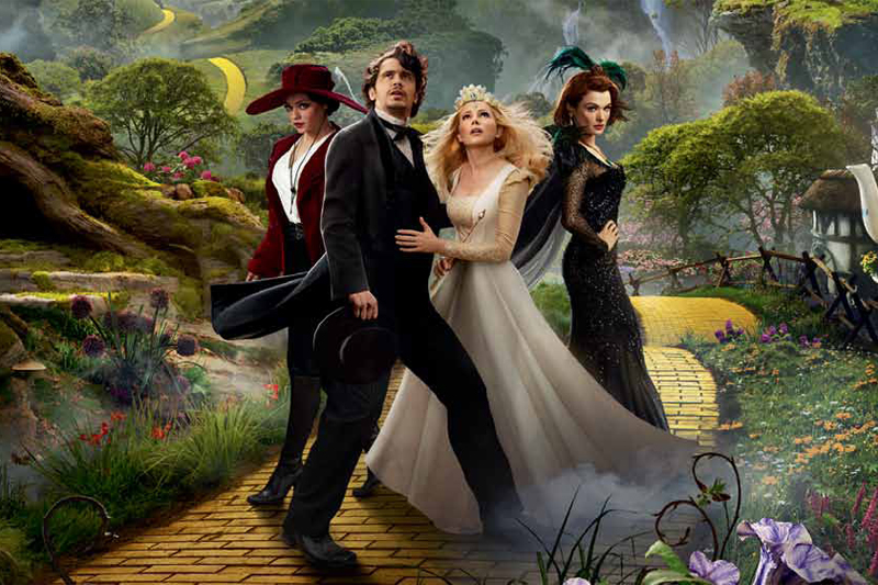 "Disney's ""Oz The Great and Powerful"" pays for visual effects in poor acting"