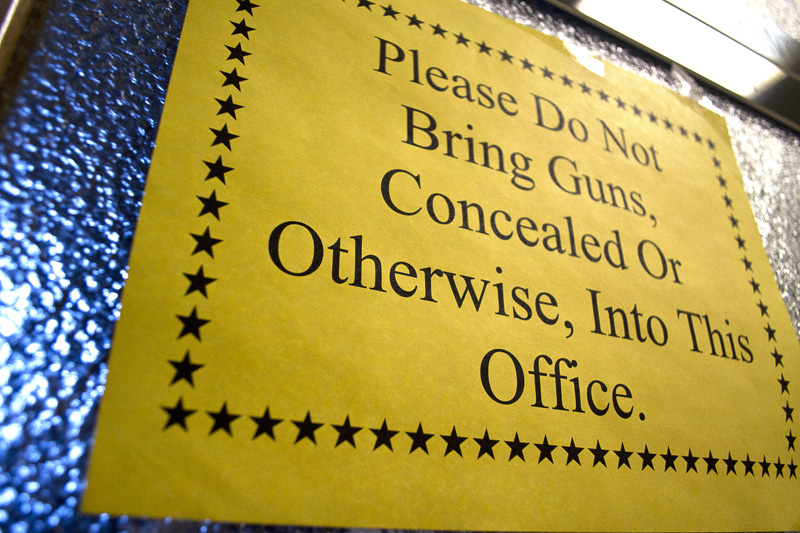 Colorado gun control bill would ban concealed weapons on campus