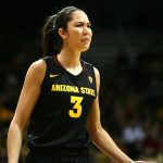Arizona State's Joy Burke (3) reacts after being called for a defensive foul. (Kai Casey/CU Independent)