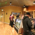 In this panorama photograph, the inside of the Terrapin Care Station is seen. (Kai Casey/CU Independent)