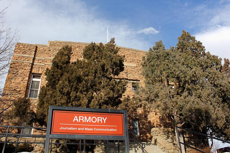 The Armory Building. (Kai Casey/CU Independent)