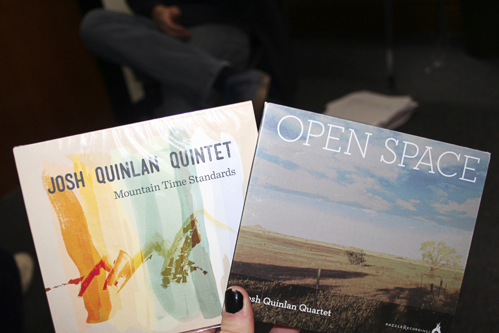 "Josh Quinlan has released two albums recently: ""Open Space"" in 2013 and ""Mountain Time Standards"" in 2012. (Allie Greenwood/CU Independent)"