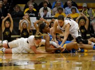 Women's basketball runs down UCLA Bruins, 62-42