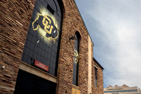 Balch Fieldhouse. (Matt Sisneros/CU Independent)