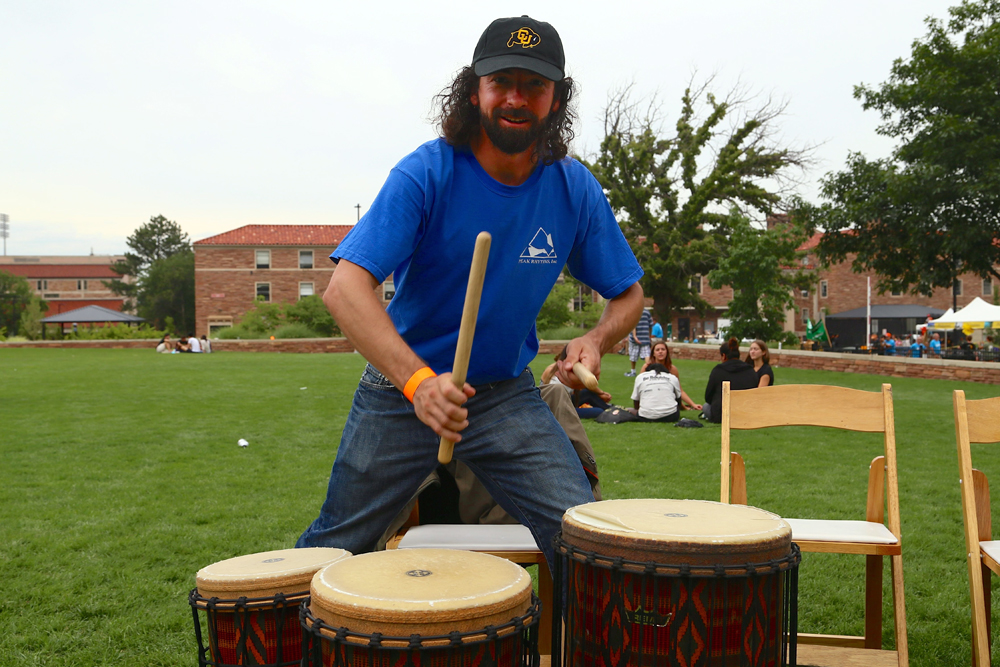 """""""How long have you been drumming?"""" """"As long as I can remember man, the beat is within you."""""""