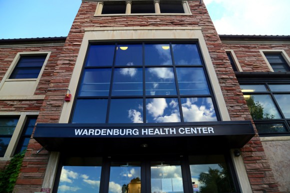 The Wardenburg Health Center on campus. (Nigel Amstock/CU Independent)