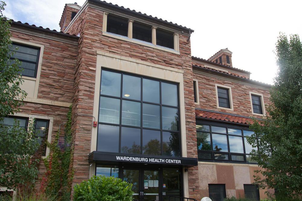 Wardenburg Health Center (CU Independent/File)