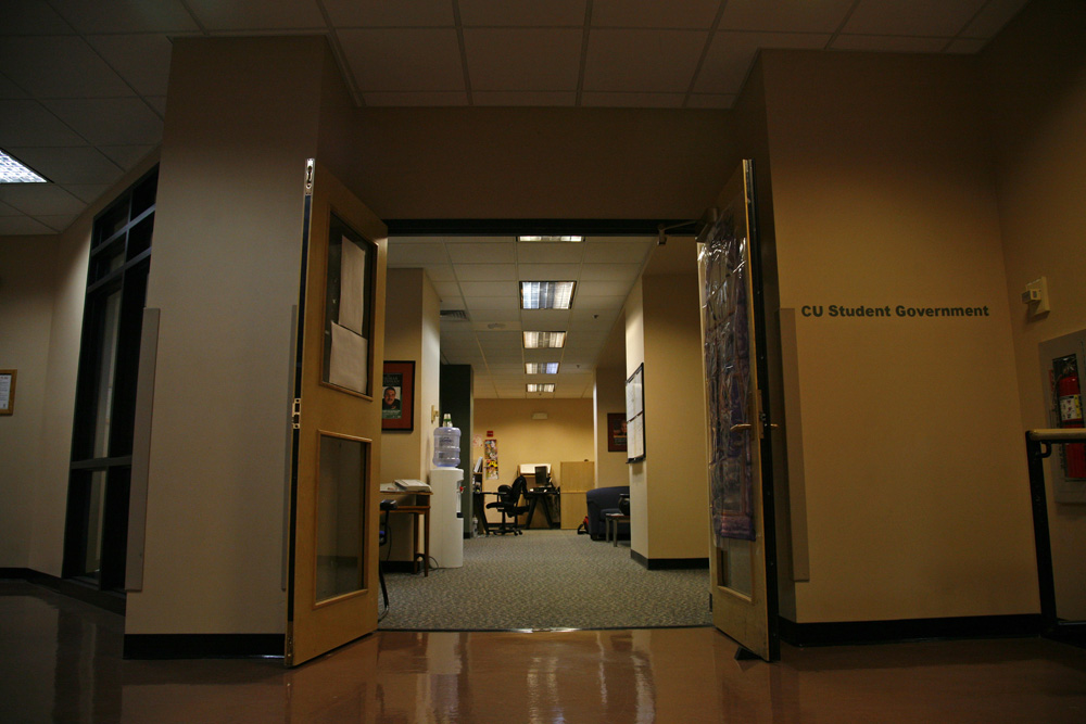 The CU Student Government headquarters located in the University Memorial Center. (James Bradbury/CU Independent File)