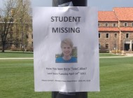 CU student missing, parents come to campus to spread word