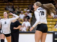 No. 24 Buffs volleyball starts season strong