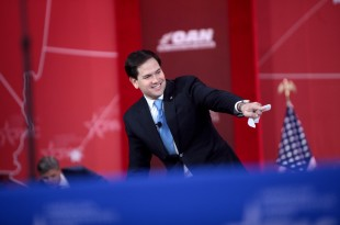 Sen. Marco Rubio of Florida speaking at the 2015 Conservative Political Action Conference (CPAC) in National Harbor, M.D. (Photo courtesy of Gage Skidmore/Wikimedia Commons)