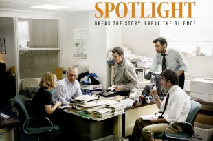 "An ad for ""Spotlight"". (Open Road Films)"
