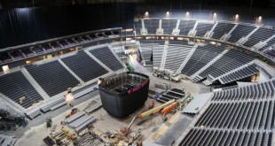 A view of the T-Mobile Arena. The T-Mobile Arena is slated to open to the public on April 6, 2016. (Nigel Amstock/CU Independent)