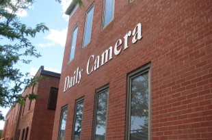 The old Daily Camera building in Boulder on June 6, 2008. (Courtesy of Lisa Williams of the Daily Camera/flickr)
