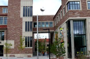 The University of Colorado Art Museum. (Courtesy of Google Street View)