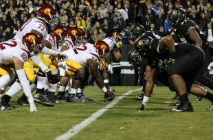 The Buffs faced off with the Trojans at Folsom Field on Nov. 13th, 2015. (Will McKay/CU Independent)