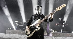 A Nameless Ghoul of the band Ghost in Denver, Colorado (Phil McKenzie/CU Independent)