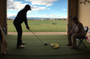 The CUI met up with the CU golf team for a quick practice (Video/CU Independent)