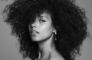 "Art for Alicia Keys' eighth studio album, ""Here"" via RCA Records ."