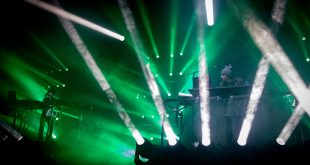 Porter Robinson and Madeon performing live at the Fillmore Auditorium in Denver on their Shelter Live Tour on Dec. 1, 2016. (Robert Hylton/CU Independent)