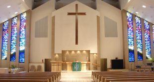 The interior of a resurrection Lutheran Church in Plano, Texas. (David R. Tribble/Via Wikicommons)