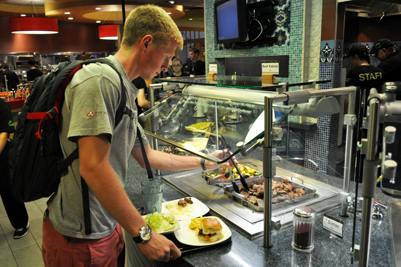 quality sustainability are focus at cu dining halls