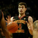 USC's Strahinja Gavrilovic is surprised by a pass. (James Bradbury/CU Independent)