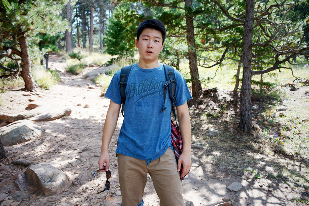 """Why did you decide to come to CU?"" ""The most important reason is there's a lot of cool stuff here. You can do hiking, mountain climbing, you can ski when the winter comes. I've been very excited about all of this."""