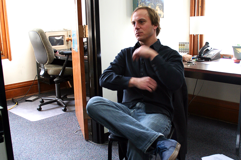 Josh Quinlan talks about being a teacher and musician at the University of Colorado Boulder. Quinlan is a jazz instructor at CU, a music faculty member at Denver School of the Arts and a saxophone artist. (Allie Greenwood/CU Independent)