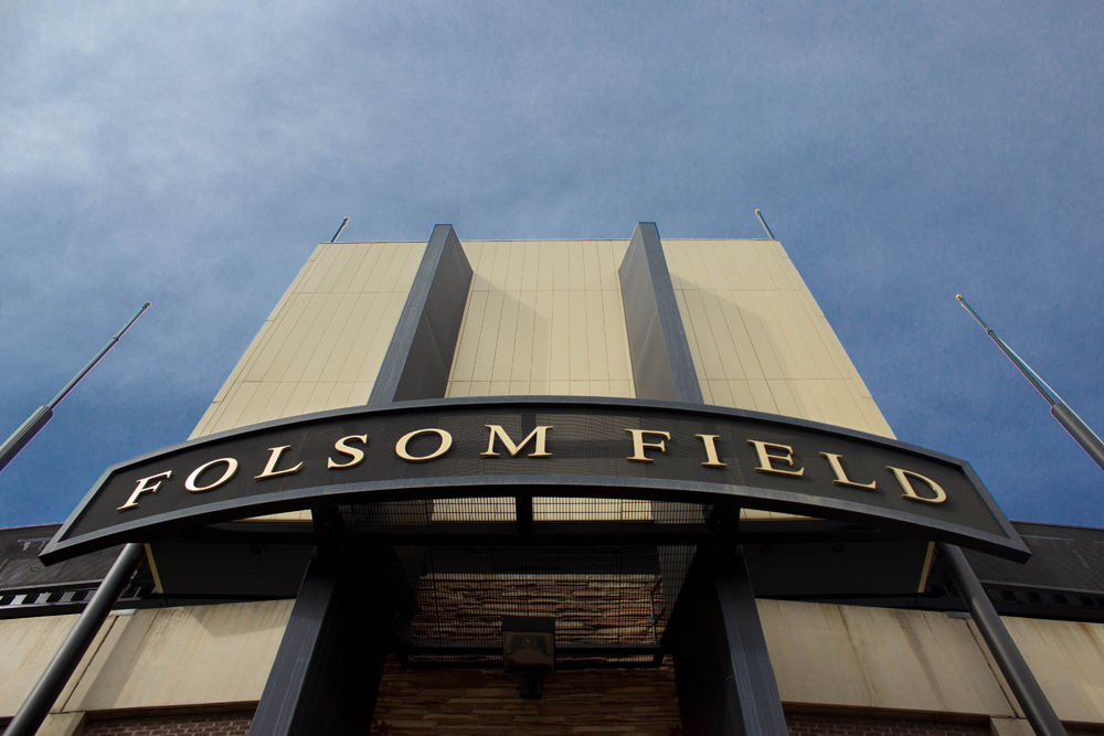Folsom Field. (Matt Sisneros/CU Independent)