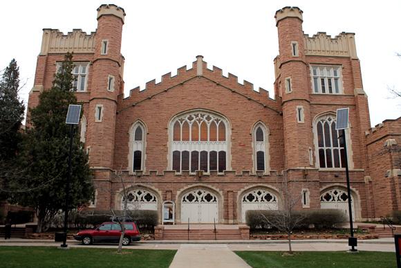 Macky Auditorium. (Maddie Shumway/CU Independent)