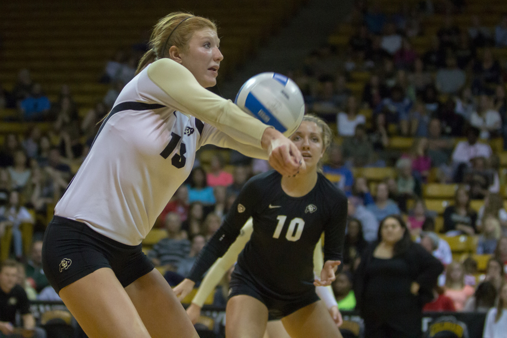 Gabby Simpson, CU volleyball star that almost wasn't