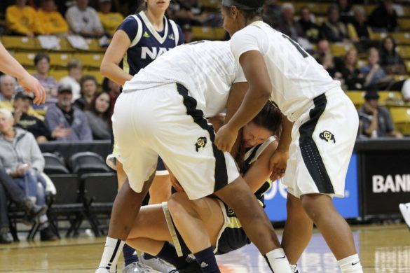 Buffs dominate in victory over Lumberjacks