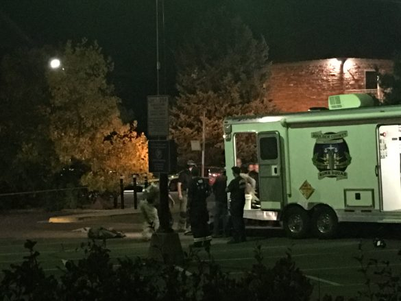 Suspicious device brings bomb squad to campus; streets, parking lots closed as area was investigated